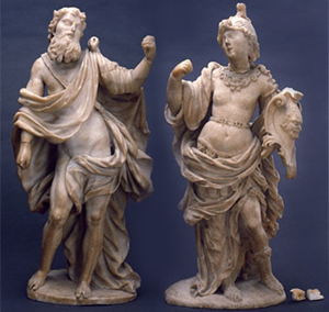 Study of the degradation of 18th century alabaster sculptures