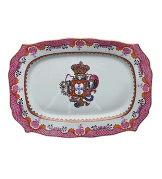 "<p class=""MsoNormal"">Replica<br /> Porcelain<br /> <em>Qianlong</em> period (1736 - 1795)</p>