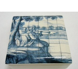 <p>Adaptation<br />Faience<br />Lisbon, c. 1700-1730</p>
