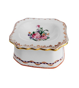<p>Replica<br />Porcelain<br />c. 1780</p>