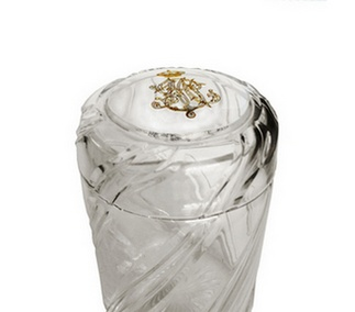<p>Replica<br />Crystal<br />Baccarat, France<br />Late 19th century</p>