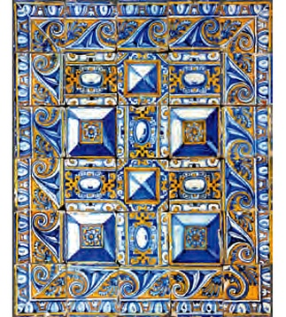 "<p>Adaptation<br /> <br />Mouse pad ptinted with a detail from the  pattern tile panel ""Diamond Tip"".<br /> 1st quarter of the 17th century</p>
