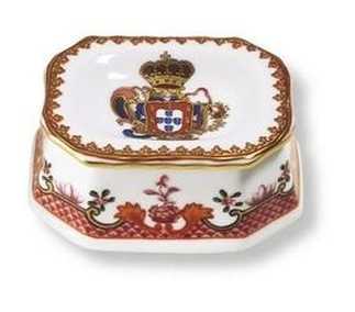 <p>Replica<br />Porcelain<br /><em>Qianlong</em> period<br />1736-1795</p>