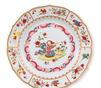 <p>Replica<br /> Porcelain<br /><em>Qing </em>dynasty<em>,</em> 18th century</p>